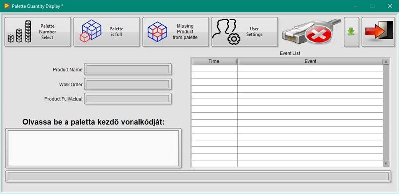Csomagolást ellenőrző rendszer