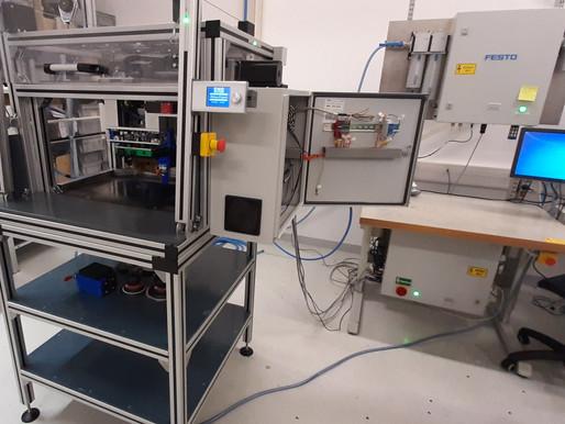 Sander Tester - Pneumatikus kézi csiszolóeszköz teszter robot