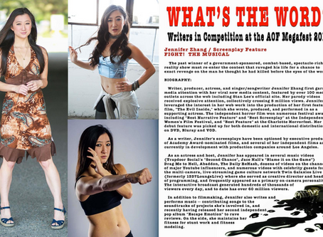 ICYMI - 2-Page Feature in Action On Film Magazine