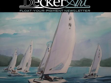 BeckerArt Float-Your-Pigment Blog Newsletter, Choosing Color #214