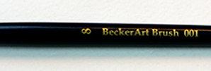 BeckerArt #8 Round Brush