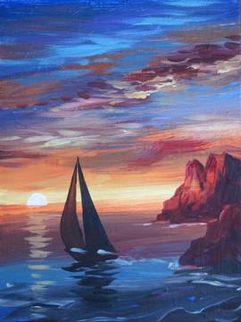 42 sunset sailing