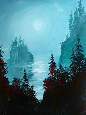 07 misty green pines