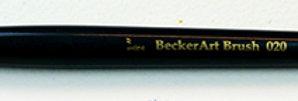 "BeckerArt  1/2"" Flat Brush"