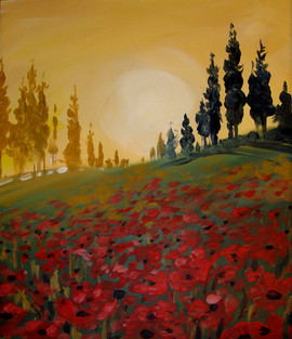 39 tuscan poppies