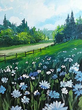 22 flowering field