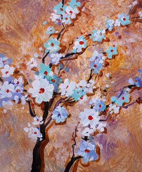 34 blossoms