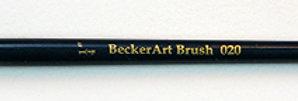 "BeckerArt  1/4"" Flat Brush"