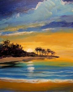 20 tropical sunset
