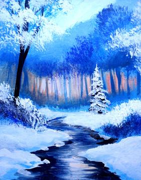 06 winter stream
