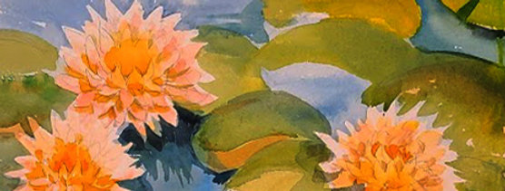 """Original Watercolor Demo """"Pictures of Lily"""""""