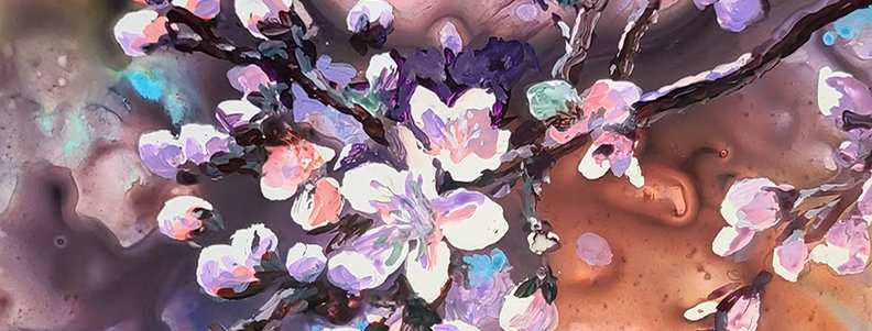 "Original Watercolor Demo ""So Many Blossoms"""