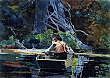 Winslow-Homer-The-Adirondack-Guide-1894-