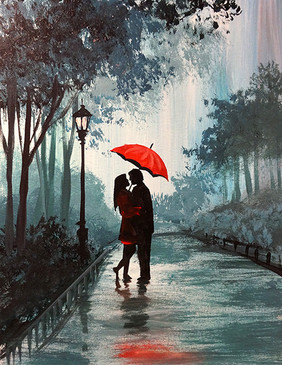 01 couple red umbrella