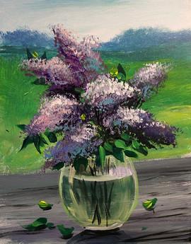 50 lilacs