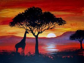 43 african sunset