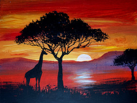 43 african sunset