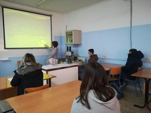 Ενημέρωση  των  μαθητών  με  μαθησιακές  δυσκολίες
