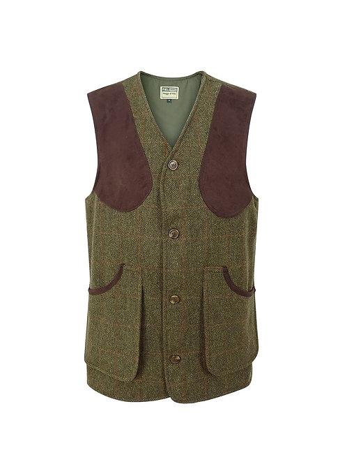 Hoggs of Fife Harewood Lambswool Tweed Shooting Vest