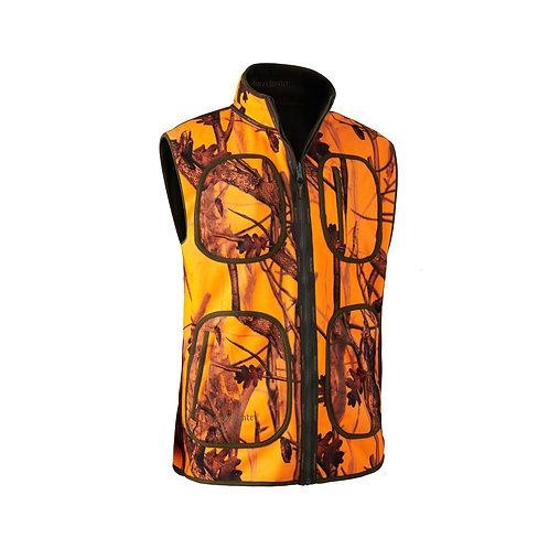 Deerhunter Gamekeeper Bonded Fleece Waistcoat - Reversible