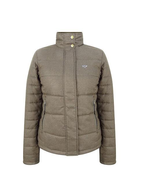 Hoggs of Fife Elgin Quilted Herringbone Jacket