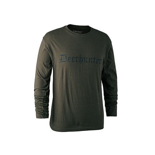 Deerhunter Logo T-Shirt Long Sleeve