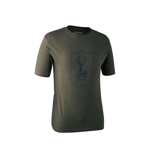 Deerhunter Logo T-Shirt Short Sleeve