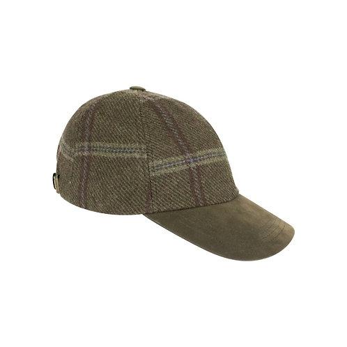 Hoggs of Fife Musselburgh Tweed Baseball Cap
