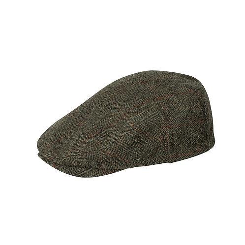Hoggs of Fife Harewood Waterproof Tweed Cap