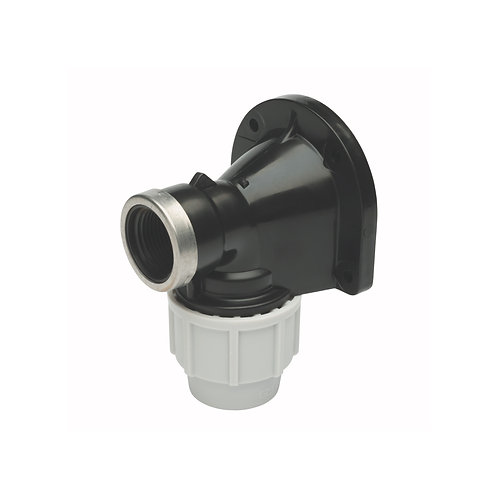 Wall Plate Elbow PP