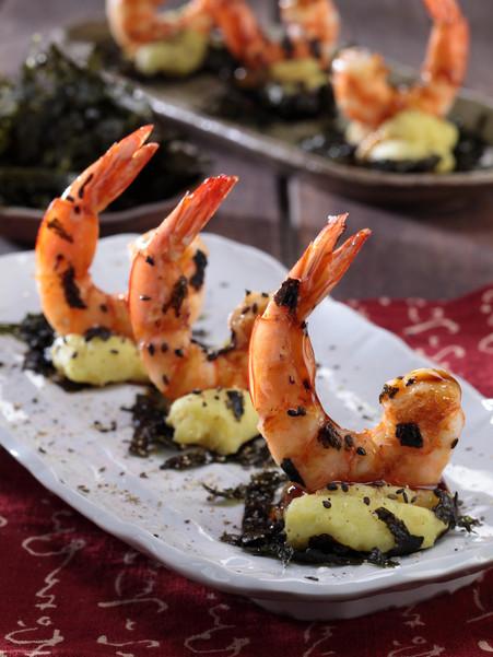 grilled yakitori shrimps22063.JPG