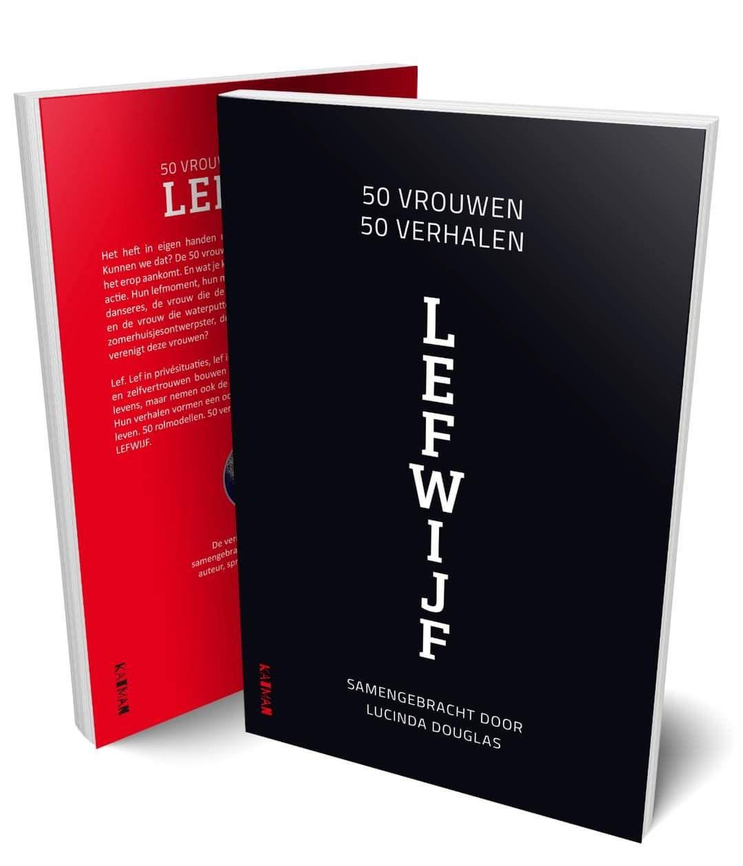 Bestel hier het boek 'LEFwijf'  met 50 verhalen