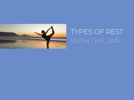 7 Types of Rest Explained with The Jar Healthy Vending