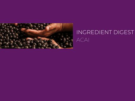Ingredient Digest: Açai