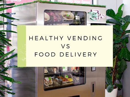 Healthy Vending vs. Food Delivery
