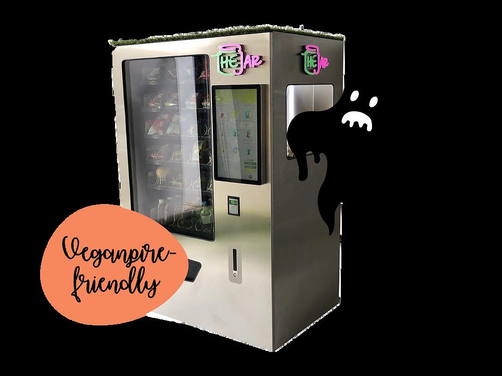 The Jar Healthy Vending Machines in London, UK