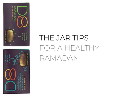 The Jar Tips For Healthy Fasting in A Quarantine Setting