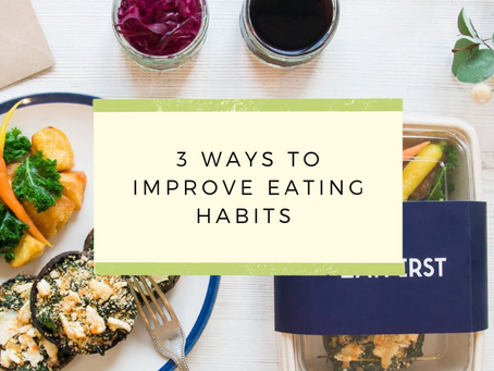 3 ways to improve eating habits with The Jar - Healthy Vending