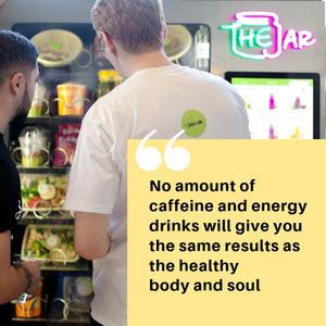 Healthy Vending in London, UK.