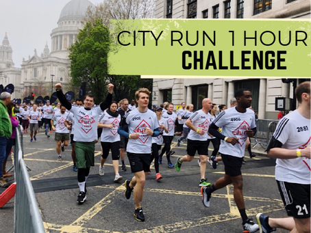 The Jar - Healthy Vending joined Adidas City Run challenge to support a local charity