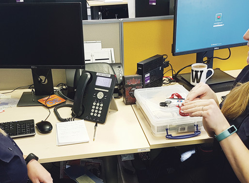 Deaf worker praises efforts of colleagues