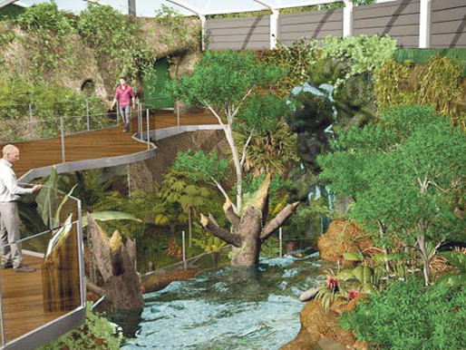 Rainforest and living laboratory come to life