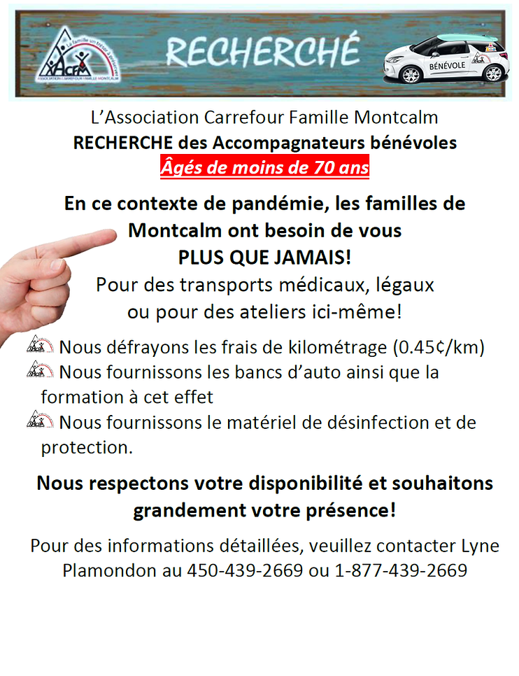 affiche_transporteurs_bénévoles_recher