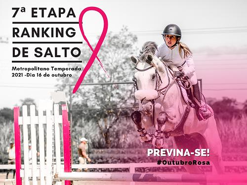 7ª Etapa Campeonato Metropolitano de Salto Temporada 2021 Realização: Sociedade Hípica Catarinense Data:16/10/2021