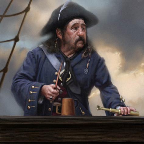 Pirate Captain.