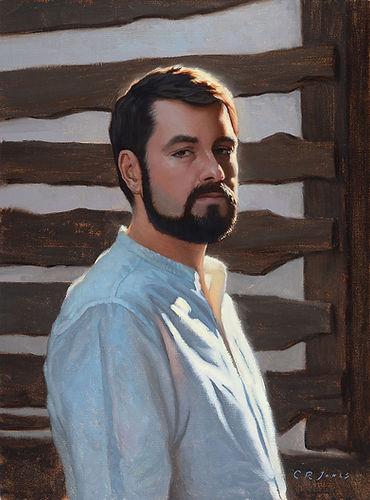 Oil portrait of Luigi