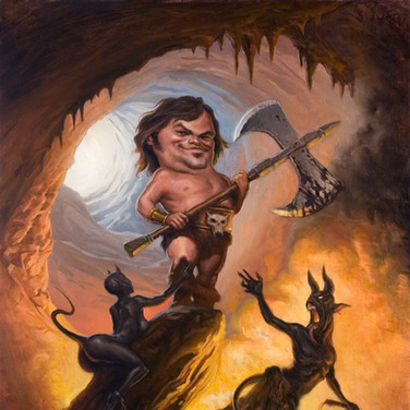 Jack Black at the Gates of Hell