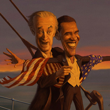 Barry and Joe on Titanic