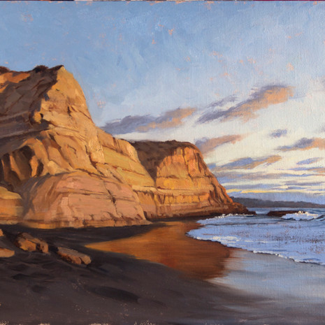 Torrey Pines Sunset - 12 x 20""