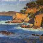 """Cypress Cove Cliffs at Pt. Lobos - 8 x 10"""""""